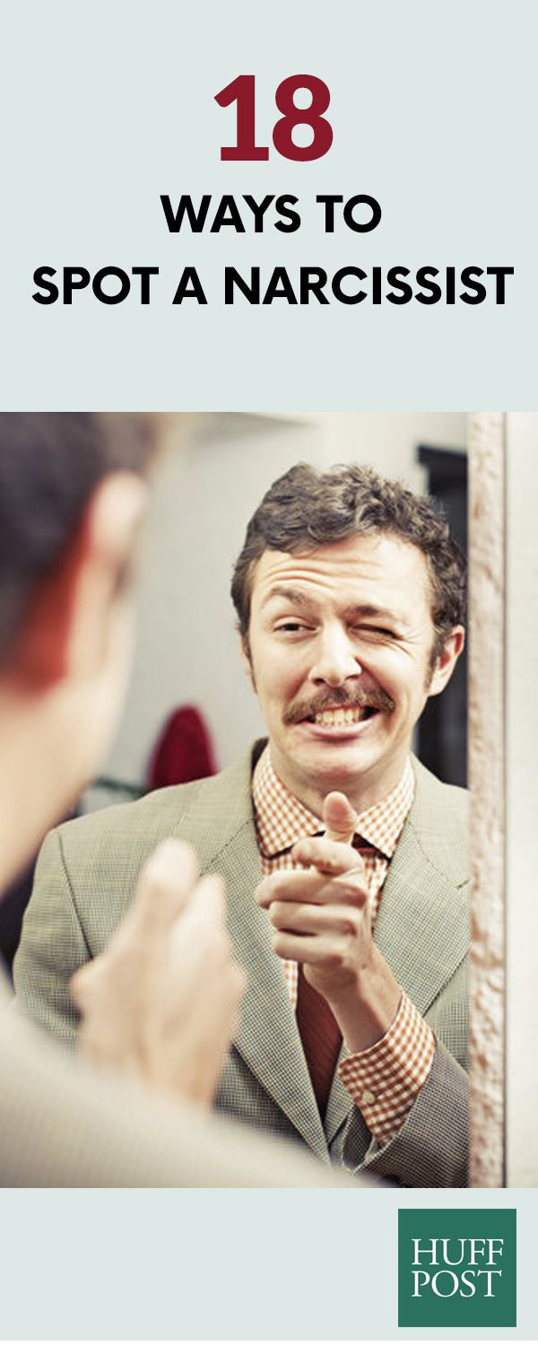 18 Ways To Spot A Narcissist | fashion design | Signs of