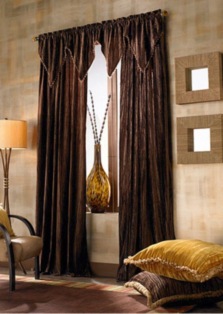Media Room Curtain Ideas Part - 40: Media Room Curtain Ideas | Living Room Curtain Styles | Home Decorating  Ideas | Window Decor