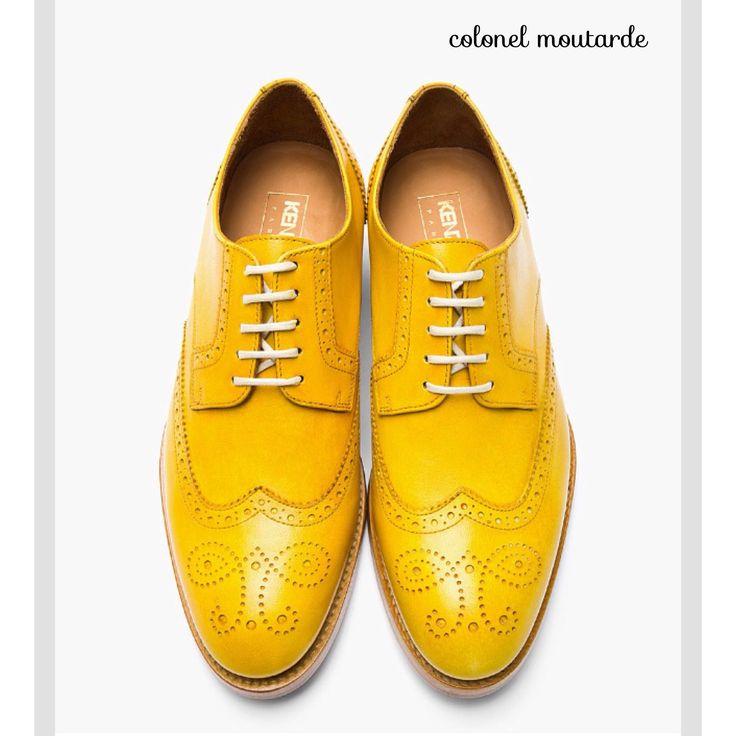 Chaussures jaunes homme 1PrwNj9NEo