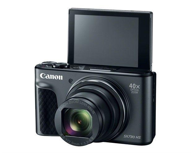 Canon PowerShot SX730 HS, Yüksek Kaliteli Selfiler için Geliyor