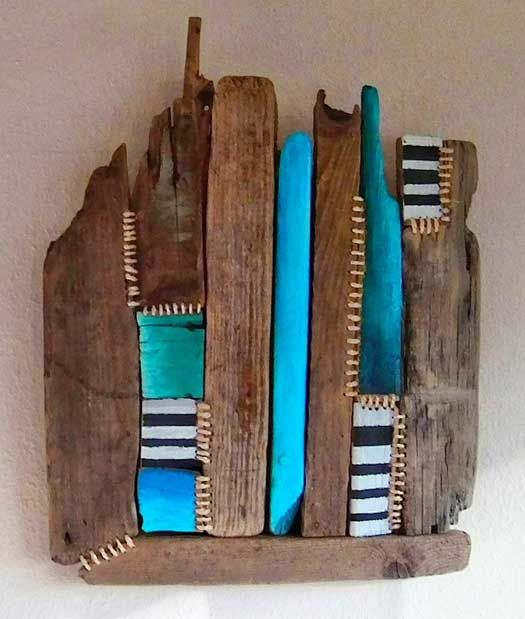 Driftwood is trendy. Thus, the driftwood art wins attention …