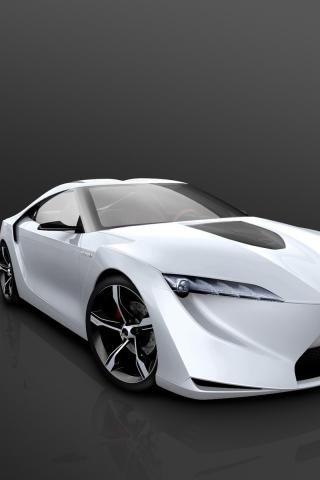 Attirant #Toyota FT HS Concept