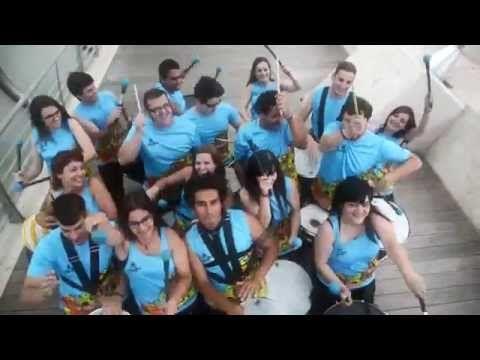 Percussion barazilian music- batukada- Samba reggae- Drums Zaragoza