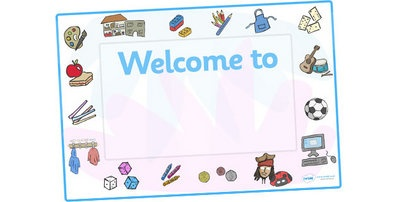 Editable Classroom Welcome Signs (Design 1) - Classroom sign, welcome, welcome sign, door sign, class sign, KS1 sign,  Editable sign, class door sign
