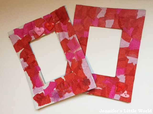 Valentine's Day simple photo frames