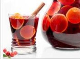 Winter- spiced red wine sangria | Recipe | Red Wine Sangria, Red Wines ...
