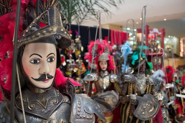 Il più famoso dei paladini di Francia…il pupo siciliano Orlando! The most famous character of the Sicilian puppets…Orlando!