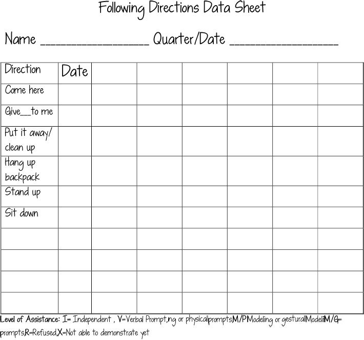 It is a graphic of Crush Free Printable Data Collection Sheets