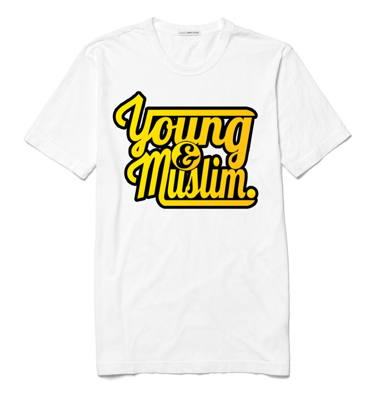Young & Muslim | Short Sleeve (White)