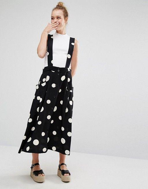 Pinafore style dress pattern