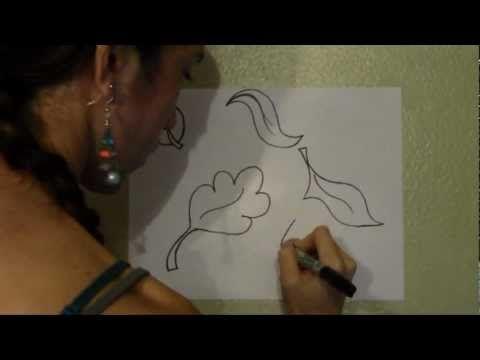 Tutorial: Como hacer hojas para pintar en la pared