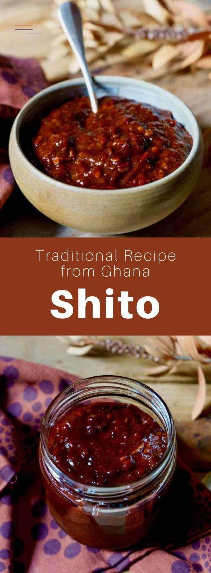 Ghana shito in 2020 ghanaian food african food recipes