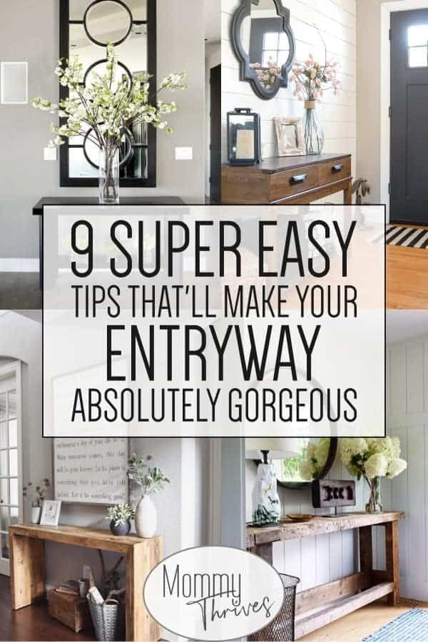 9 Entryway Table Ideas That Are Gorgeous Mommy Thrives Decor Small - What To Put On An Entryway Table