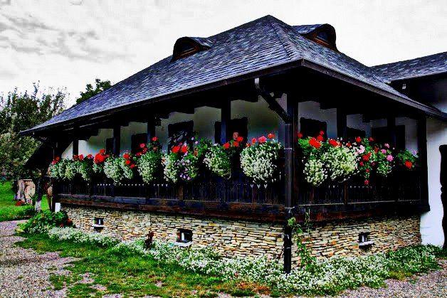 Casă tradițională in Gura Humorului, Suceava, Bucovina