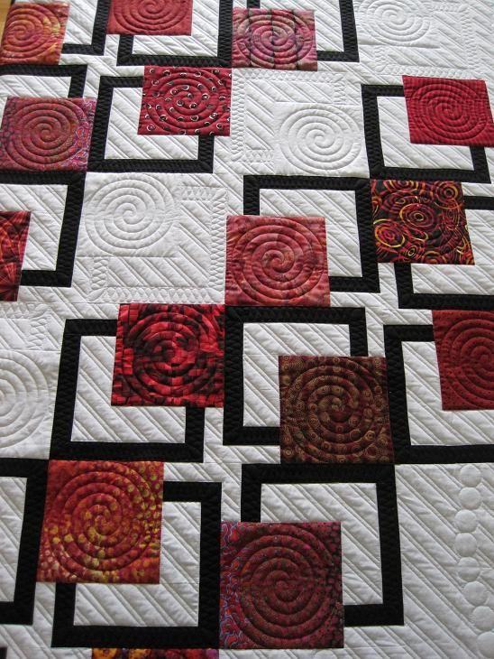 Best 25+ Modern quilting designs ideas on Pinterest Machine quilting designs, Quilting designs ...