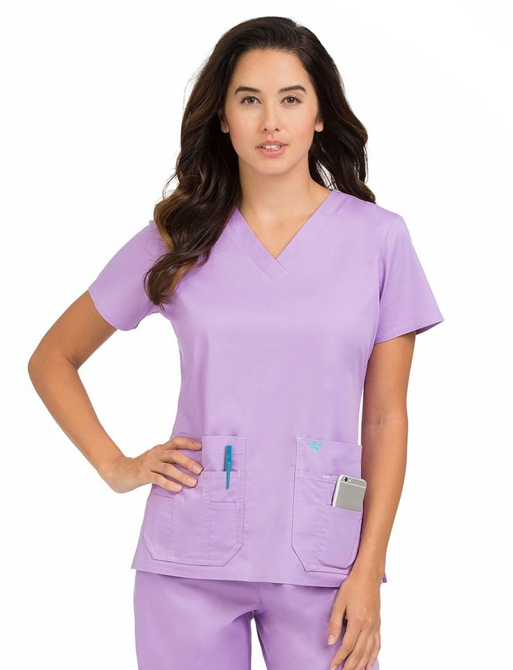 Med Couture Clearance Flex-It Scrub Top