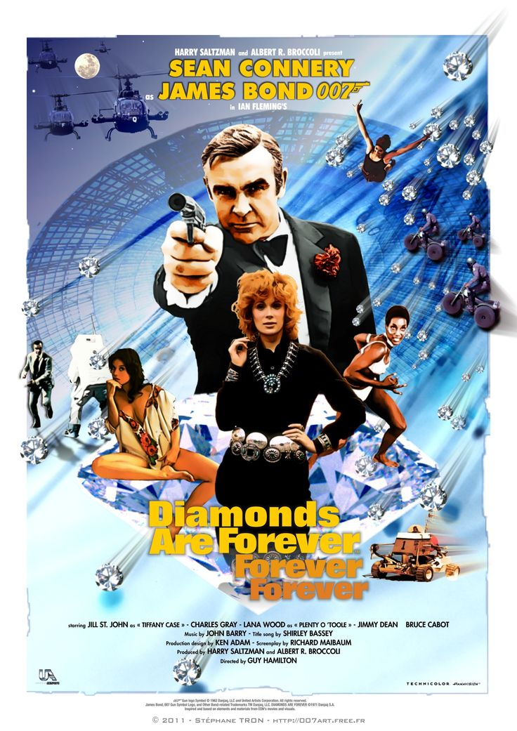 'Diamonds Are Forever' - Poster 4