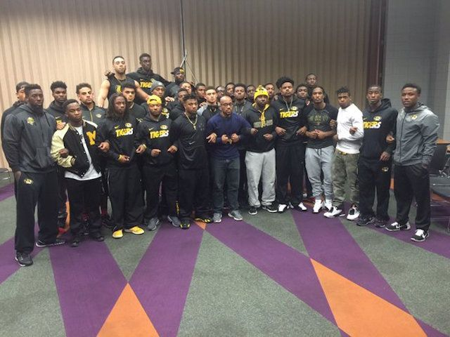 In the recent wake of racial tension at the University of Missouri, black football players have announced they are going on strike until the school president is removed.