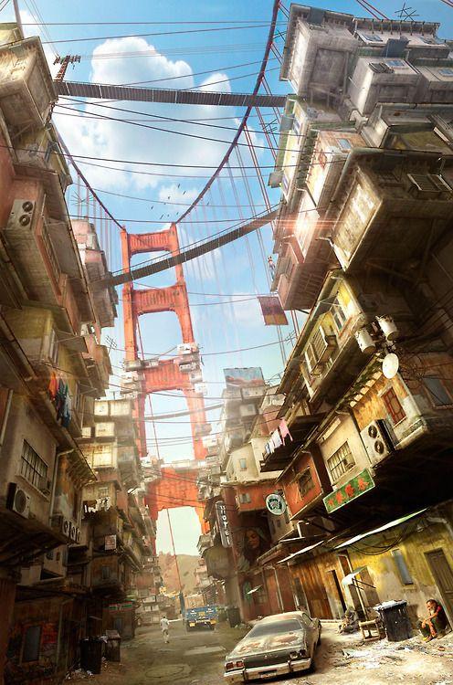 #cyberpunk #noir #city #cityscapes #future #dystopia