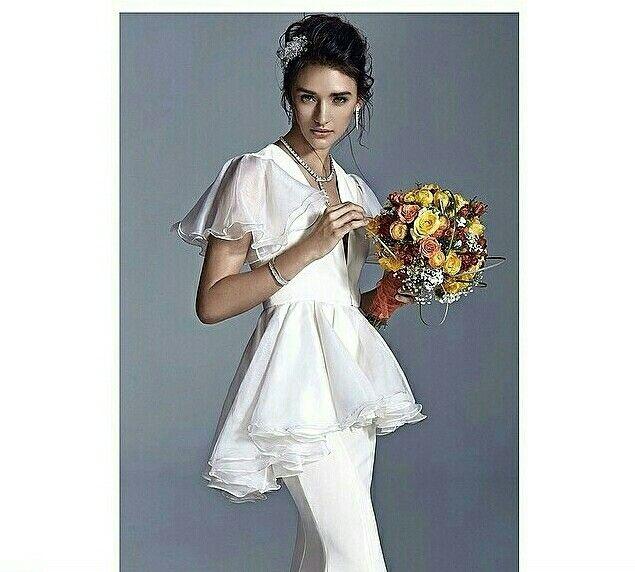 Marie Claire Wedding  Hair Accessory: Handmade by NS  Stylist : Tuba Gezer  Hair&Makeup : Gökhan Yalçıner Murat Akbulut