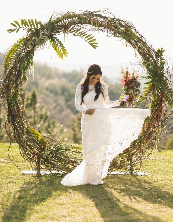 Circle And Semi Circle Arch Wedding Party Rentals In San Diego Ca Wedding Arch Wedding Ceremony Arch Wedding