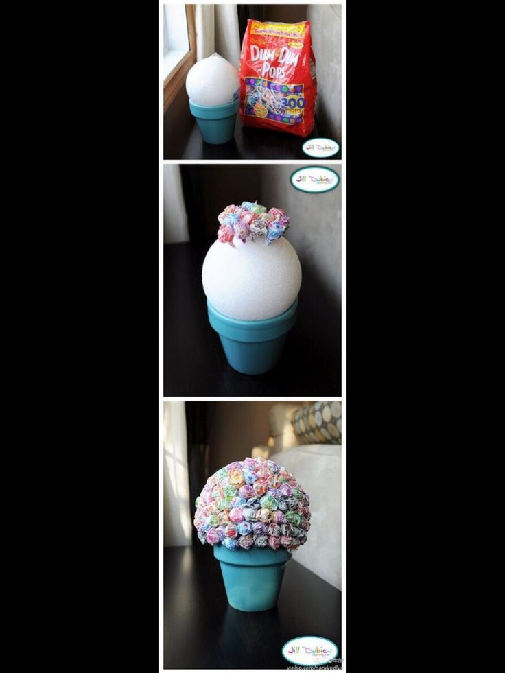 so cute and easy! DIY dum dums lolly pops
