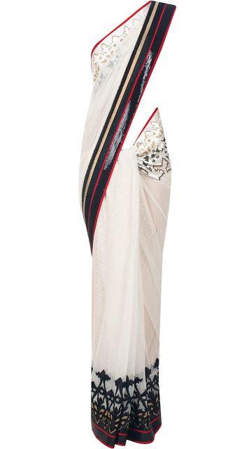 Saree Collection 2013 find similar lace designs @ www.lacxo.com