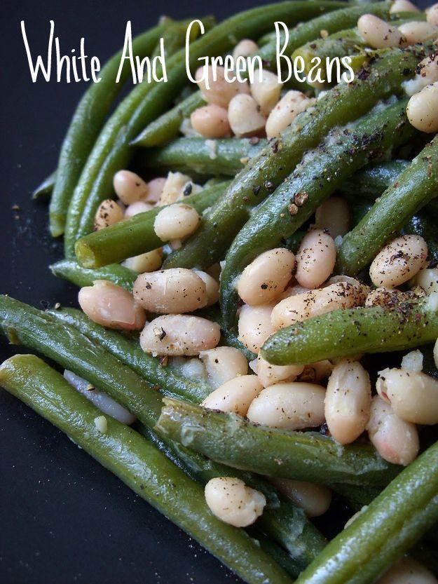 White  Green Beans | 41 Delicious Vegan Thanksgiving Recipes