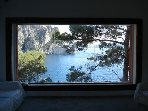 inside Casa Malaparte (1938-1942) by Curzio Malaparte and Adalberto Libera, Isle of Capri, Italy