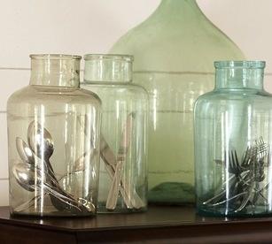 display vintage silverware