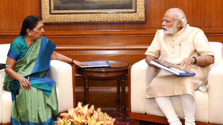 The First Mail | Anandiben Patel Meets PM Modi