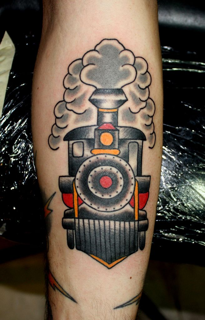 train tattoo myke chambers | Flickr - Photo Sharing!
