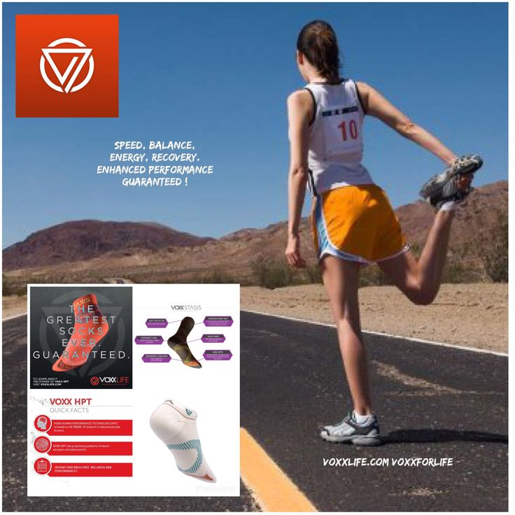 Check out www.voxxlife.com/barbglasgow to see our selection of socks and insoles. Suffer from pain, plantar fasciitis, fibromyalgia, arthritis, diabetic neuropathy or are you an athlete wanting to go faster, higher, stronger ? This is for you ....
