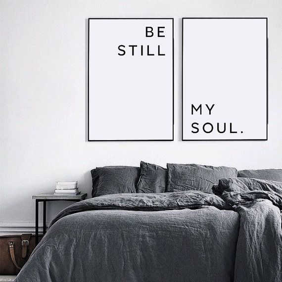 Be Still My Soul Poster Be Still My Soul Print Be by ColourMoon