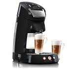 EUR 140,90 - Senseo Latte Select HD7854/60 Kaffeepadmaschine, Hochglanzschwarz + 2 Gläser - http://www.wowdestages.de/eur-14090-senseo-latte-select-hd785460-kaffeepadmaschine-hochglanzschwarz-2-glaser/