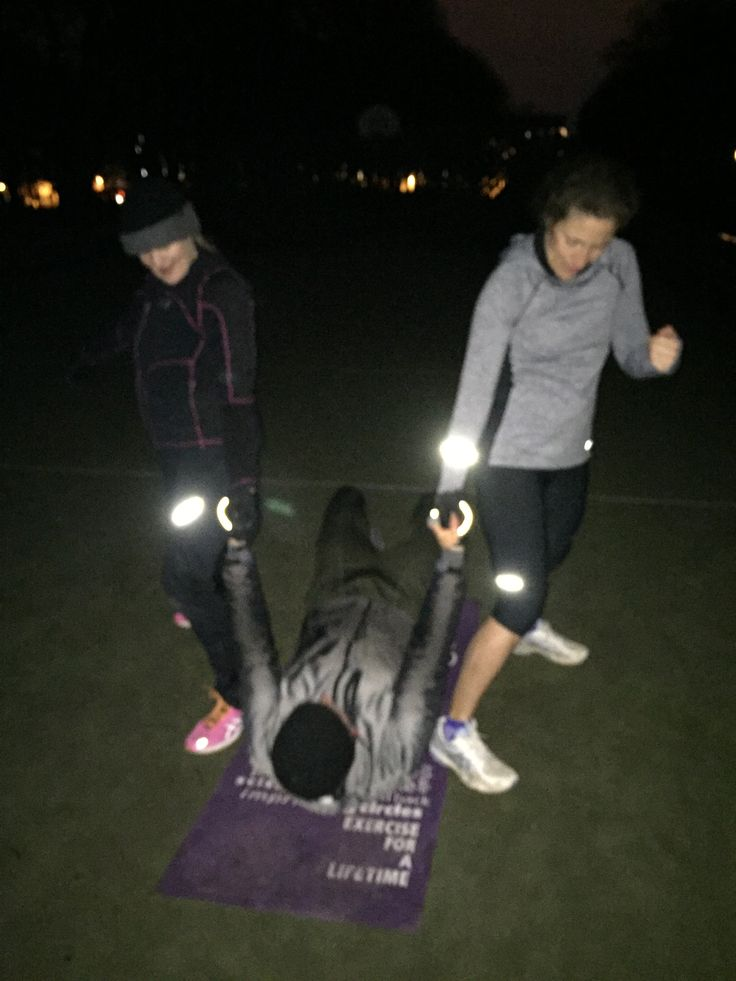 12.01.16: early morning Bootcamp
