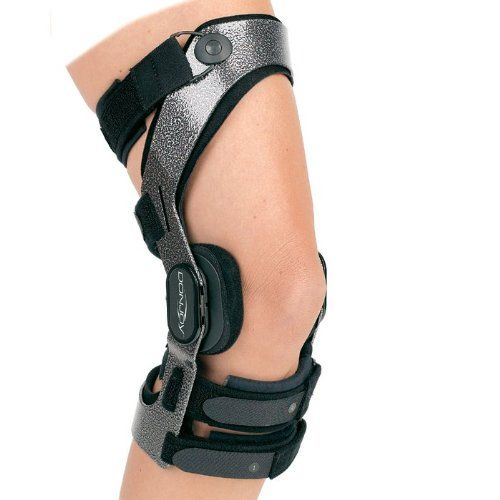 DonJoy Armor Action Knee Brace Medium Right ACL Short *** Click image for more details.