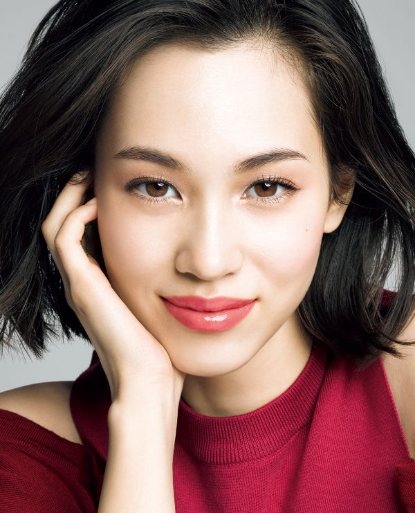 kiko    Kiko Mizuhara for Shiseido MAQuillAGE Spring/Summer 2015  More photos here