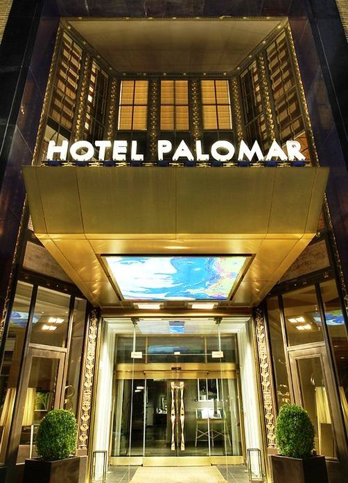 Hotel Palomar Philadelphia  Hotel Palomar is a unique luxury boutique hotel in Philadelphia that features 230 stylish guestrooms and suites and 4,500 square feet of state-of-the-art meeting and event space