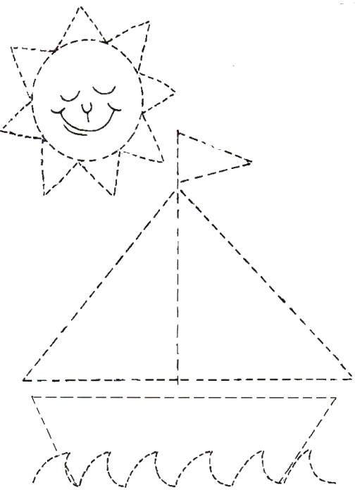 Actividades para niños preescolar, primaria e inicial. Fichas con ejercicios de grafomotricidad para niños de preescolar y primaria. Unir puntos y pintar. Grafomotricidad Unir puntos y pintar. 41