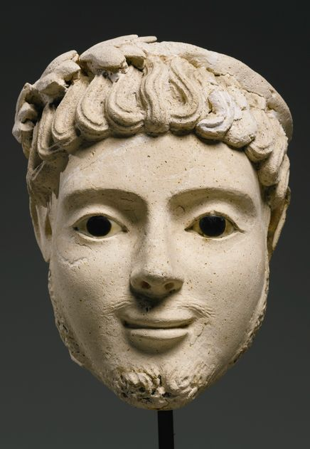 """ouijno: """" gionah a reblogué mythologer egyptian portrait of a smiling man roman period 2nd century ad """""""