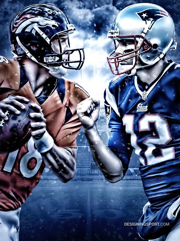 104 best images on pinterest new england patriots patriots designingsport peyton manning denver broncos vs tom brady new england patriots voltagebd Gallery