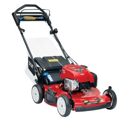 Toro Personal Pace Recycler 22 in. Variable Speed Self-Propelled Gas Lawn Mower with Blade Stop System-20333 - The Home Depot