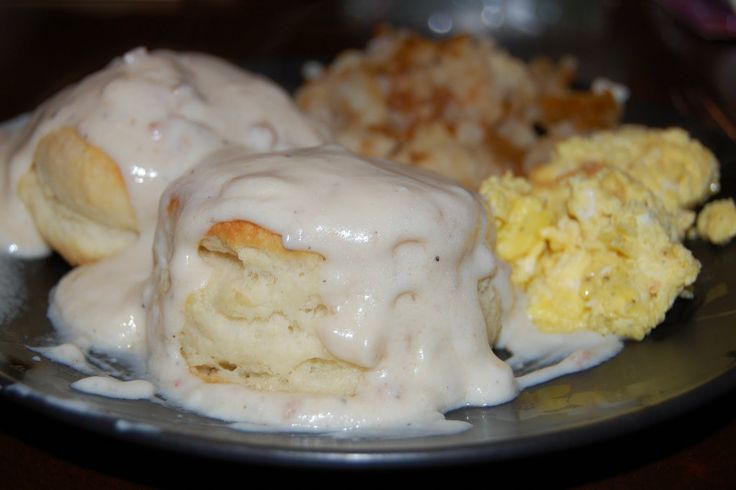 Discover my families scratch prepared buttermilk biscuits & gravy dish - super easy and delicious! http://accordingtobrian.com/biscuitsngravy