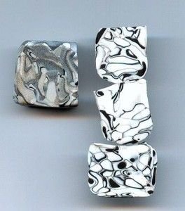 Extruder technique for marbling effect first, then how to cover a pen. #Polymer #Clay #Tutorials