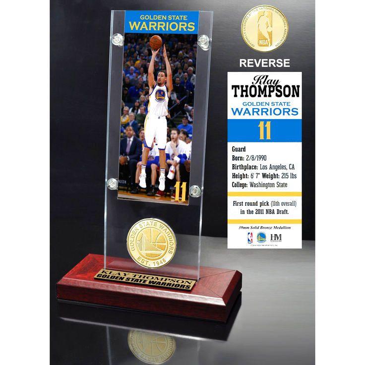 Klay Thompson Golden State Warriors Highland Mint Player Ticket Acrylic - $31.99