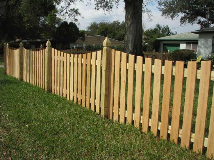144 Best Wood Fence Designs Images On Pinterest