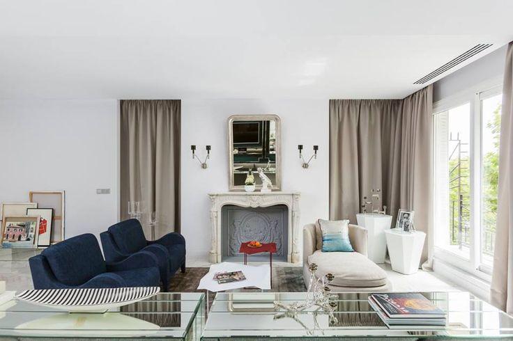 Очень парижская квартира от Ники Воротынцевой