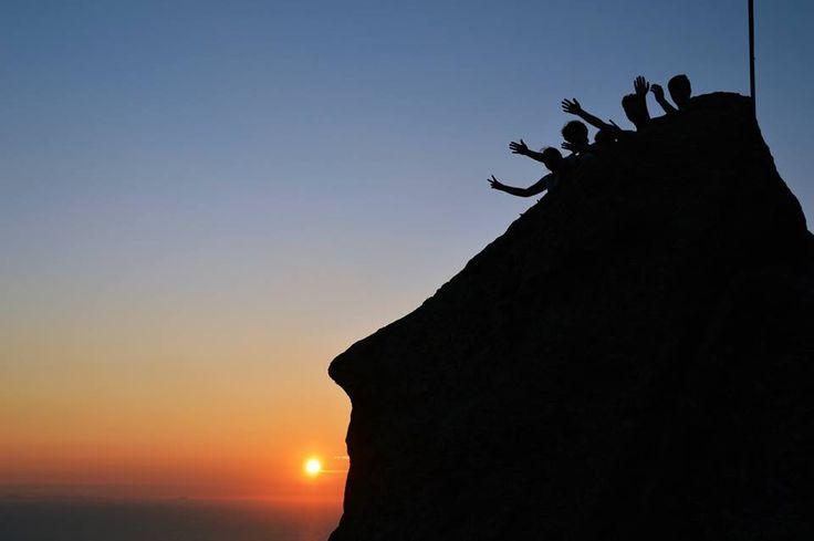 Il Monte #Epomeo, punto più alto dell'#isola d'#Ischia, visto da una prospettiva davvero originale... :)   Grazie a #ElenaIacono