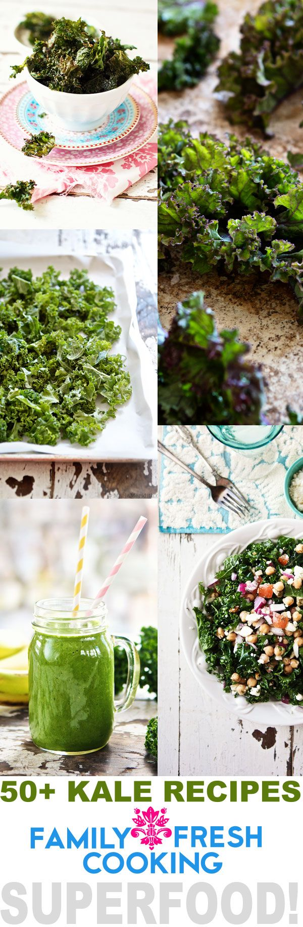 50+ AMAZING Kale Recipes | FamilyFreshCooking.com